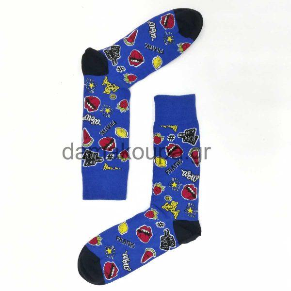 Ανδρικές κάλτσες με χαρούμενα σχέδια