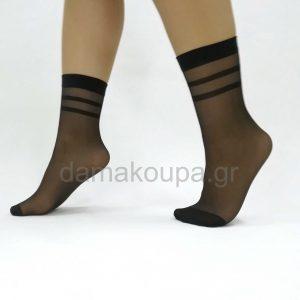 Κάλτσες γυναικείες με ρίγες