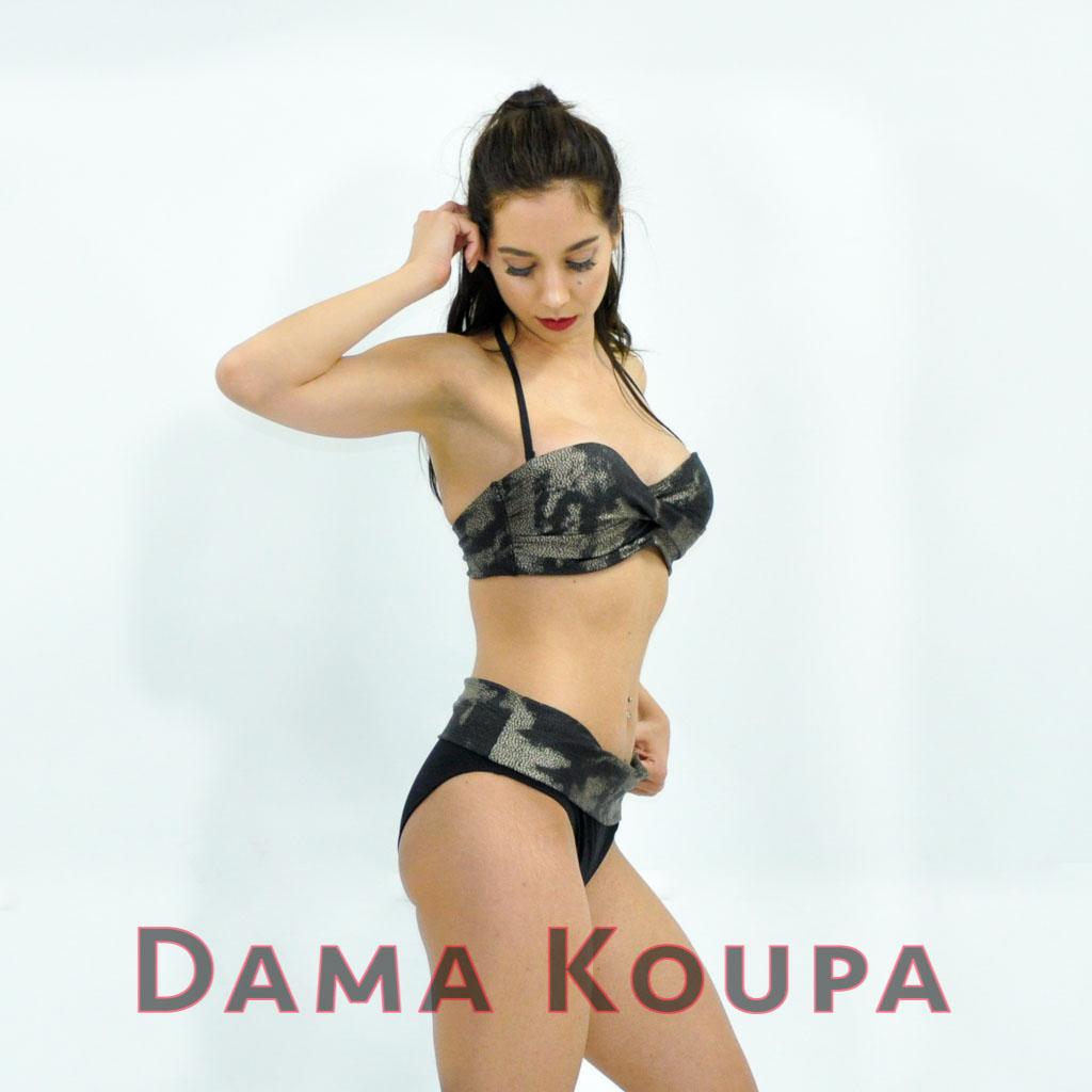ΜΑΥΡΟ ΜΑΓΙΟ STRAPLESS CUP D SNAKELOOK Dama Koupa 12cdee62d2a