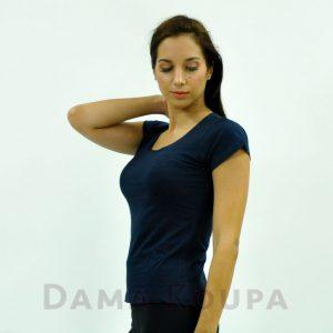 Μπλούζες κοντομάνικες μπλε