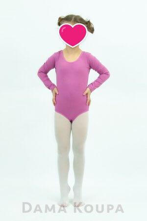 Παιδικό κορμάκι χορού σε ροζ χρώμα
