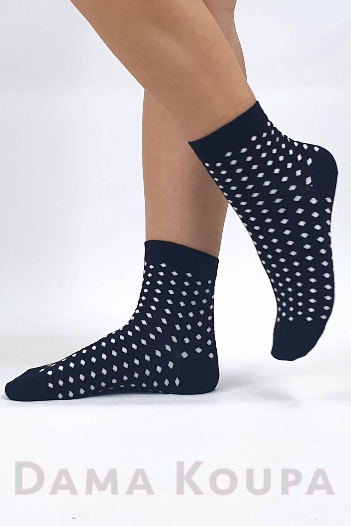 Γυναικείες κάλτσες με σχέδιο
