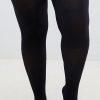 Μαύρο διάφανο καλσόν xxl